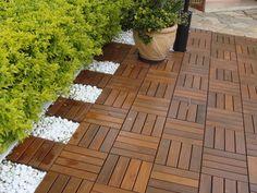 quintal com deck de madeira - Pesquisa Google
