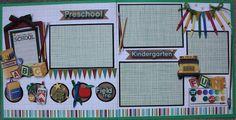 Preschool and kindergarten layout