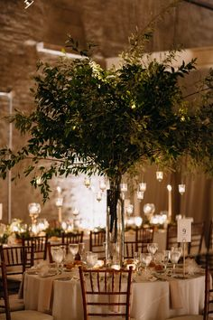 Tree Centrepiece Wedding, Green Centerpieces, Candle Wedding Centerpieces, Tree Wedding, Tree Decorations Wedding, Wedding Top Table Flowers, Floral Wedding, Enchanted Garden Wedding, Enchanted Wedding Themes