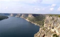 The Indian Cliffs on Lake Amistad