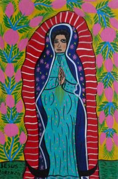 paintings of our lady of guadalupe by children - Google Search