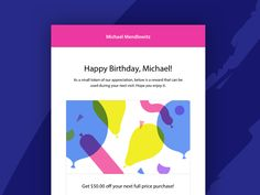 Paytouch Birthday Template by Megan Fox