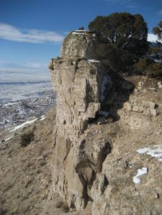 cliff with big horn sheep   Sheep Mountain South and Peak 4970 : Climbing, Hiking & Mountaineering ...