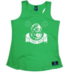 Open Water Life's Short Dive Hard Scuba Diving Girlie Training Vest