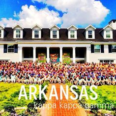 KKG Gamma Nu at University of Arkansas!