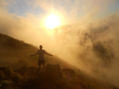 Sunrise, Mount Batur, Bali, Indonesia. One of my favourite pictures