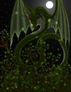 Tree Dragon,  Lizzy John