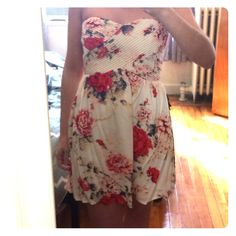 Nwot Kimchi Blue Floral Mini From Uo