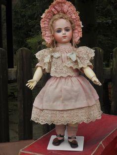 ~~~ Marvelous Bebe Bru Preserved in Original Costume ~~~