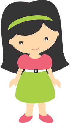 MASCOTINHAS GRÁTIS PARA BAIXAR - Cantinho do blog Cute Girls, Little Girls, Cool Clipart, Monster Coloring Pages, Coreldraw, Bottle Crafts, Girl Cartoon, Paper Piecing, Decoration