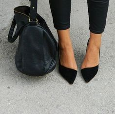 love these black flats