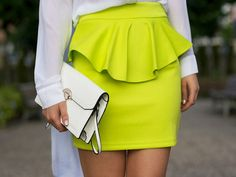 DIY No Sew Leather Peplum Belt! #DIY #fashion #leather  www.endlessbeauty.com