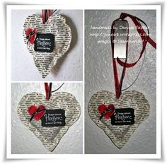 Folge Deinem Herzen ......Fabric heart filled with lavender