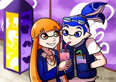 """Starting now, I'm working on redoing all of my OCs' bios. They'll be called """"Rainsquids"""" btw! Of course I gotta start with Blue! Just a fair warning, but I'm putting a ton of thought and text..."""