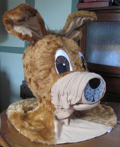 Fashioned by Lyndell: Dog Costume ... The making of a Head