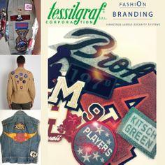 The Trend! #tessilgraf #trend #patch #fashionbranding