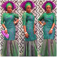 the best nigerian lace styles 2016 2017 African Dresses For Women, African Attire, African Fashion Dresses, African Wear, Nigerian Fashion, African Outfits, Ghanaian Fashion, African Women, African Inspired Fashion