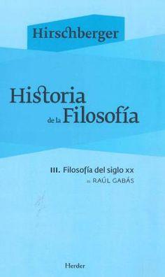La presente obra es ya un clásico de la historiografía filosófica. Publicada en castellano por primera vez en 1954, ha contribuido a la formación en filosofía de varias generaciones tanto en España como en América Latina.