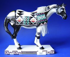 Trail Of Painted Ponies Tewa Horse Large Decovista Decorative