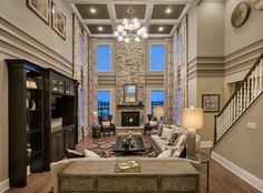 Toll Brothers -  		    	The Hampton Family Room