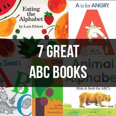 7 Great Classic ABC Books for Every Family | Tipsaholic.com #reading #books #abcs #kids