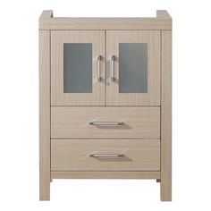 Gallery For Photographers Virtu USA Dior inch Light Oak Single Sink Cabinet Only Bathroom Vanity