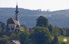 Curch Attersee - Austria by Tassilo Edelsbacher on Austria, Paris Skyline, Travel, Voyage, Viajes, Traveling, Trips, Tourism