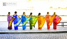 rainbow saris