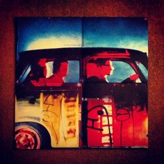 All four singles of Achtung Baby formed as the photo they portray. Achtung Baby, Book Illustration, Cool Bands, Illustrations Posters, U2, Magazines, Painting, Collection, Books