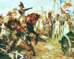 Le général Broussier exhorte ses hommes, qui s'apprêtent à partir avec la ''colonne Macdonald'' à l'assaut de la ligne ennemie.