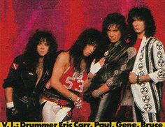 Eric Carr Forever is a fan site dedicated to the KISS drummer Eric Carr (aka The Fox). Picture gallery updates every week. Kiss Images, Kiss Pictures, Kiss Members, Eric Carr, Peter Criss, Paul Stanley, Best Kisses, Kiss Band, Ace Frehley