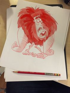 Caveman Character Design by Richtoon
