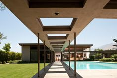 Twin Palms by E Stewart Williams provided a private retreat for Frank Sinatra – IdeaFor.Design