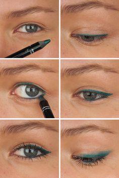 Aqua Eyes tutorial - Saara Sarvas | Lily.fi