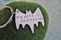 Hand Stamped Personalized Superhero Copper by YourInnerLotus, $20.00