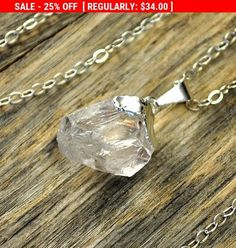 SALE 25% OFF + Crystal Necklace, Crystal Pendant #jewelry #necklace @EtsyMktgTool http://etsy.me/2bYTDuH #crystal #crystalnecklace