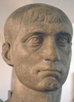 Maxentius - 58th Emperor of Rome, son of Maximian and brother-in-law of Galerius. Angry at being passed over for Caesar, took Rome and control of Italy. Drowned after the Battle of Milvian Bridge.
