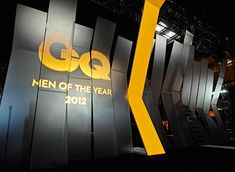 """GQ Event Design -GQ """"Men of the Year 2012"""" turned into an installation area in which """"Reaching the Sky"""", the concept of the event, found its meaning. The center piece, the double sided innovative stage created a sophisticated atmosphere and embraced the audience in very exciting way."""