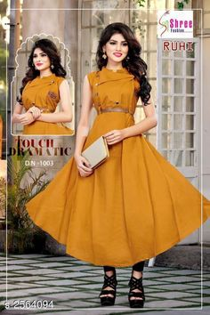 Checkout this latest Gowns Product Name: *Adorable Cotton Women's Gown* Sizes:  M, L, XL, XXL Country of Origin: India Easy Returns Available In Case Of Any Issue   Catalog Rating: ★4.2 (22022)  Catalog Name: Mahika Adorable Cotton Women's Gowns CatalogID_345891 C79-SC1289 Code: 043-2564094-957