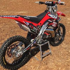 ***CR125 Bike Giveaway*** Click the link in our bio or go to throttlesyndicate.com. Purchase the sponsor logo decal sheet for $10.00 and we… Ktm Dirt Bikes, Dirt Biking, Motocross Logo, Honda Motorcycles, Dirtbikes, Badass, Trucks, Logos, Giveaway