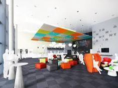 Image result for staff canteen design Restaurant Interior Design, Canteen, Restoration, Relax, Lounge, Building, Cube, Projects, Image