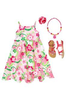 Gymboree - Flower power dress, sandals, a necklace and a hair accessory! Geox GIGLIO17 Sandal Oo my gosh how adorable are these? Kids be ready to have some fun under the bright big Sun and wear these terrific sandals that will keep your feet in so you don't lose your shoes! Toddlers are all set for the Summer  @Metropolisatmet #Findwhatyoulove