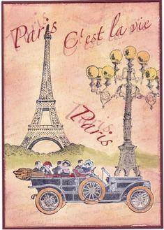 paris by PersonaPuffs