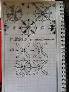 Murphy - zentangle....I like to doodle :)