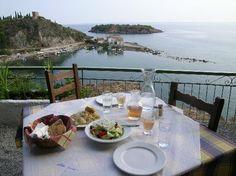 Wanderlist: Kardamili, Greece Greece Tourism, Greece Travel, Peaceful Places, Sandy Beaches, Romantic Travel, Planet Earth, Trip Advisor, Places To Go, Travel Destinations