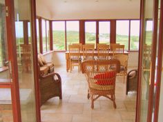 sunroom sitting area dinning area | Pairc na Realta, County Kerry - Inside the house