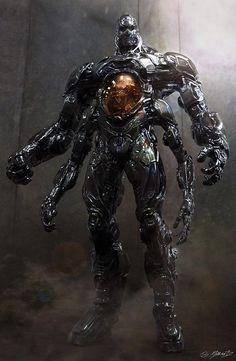 Krang Confirmed For Teenage Mutant Ninja Turtles 2 Robot Concept Art, Armor Concept, Ninja Turtles 2, Teenage Mutant Ninja Turtles, Armadura Sci Fi, Character Concept, Character Art, Arte Robot, 3d Fantasy