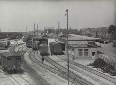 Station Nijmegen, loodsen Van Gend & Loos