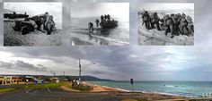 US Marines training at Safety Beach, Melbourne 1943 - 2015