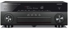 Shop Abt for the Yamaha AVENTAGE Channel Black AV Receiver With MusicCast - Find the best audio receivers for your home today at Abt. Movie Sound Effects, Room Acoustics, Surround Speakers, Audio Installation, Av Receiver, Composite Video, Dolby Atmos, Audio Room, Digital Audio